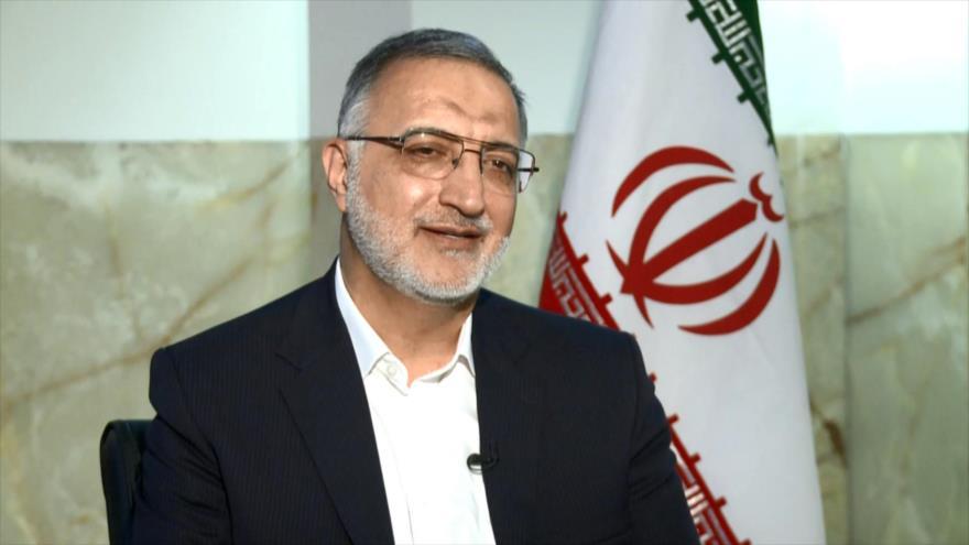Candidato Zakani en exclusiva con IRIB habla sobre su política exterior