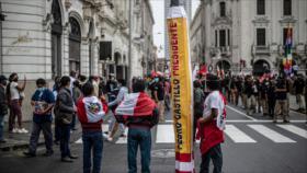 """¿Huele a fraude en Perú?: Castillo insta al pueblo a """"levantarse"""""""