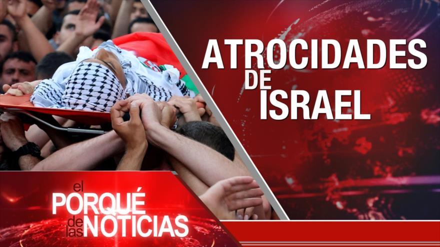 El Porqué de las Noticias: Palestina. G7. Colombia