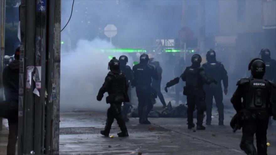 Denuncian represión policial en Colombia en plena visita de CIDH | HISPANTV