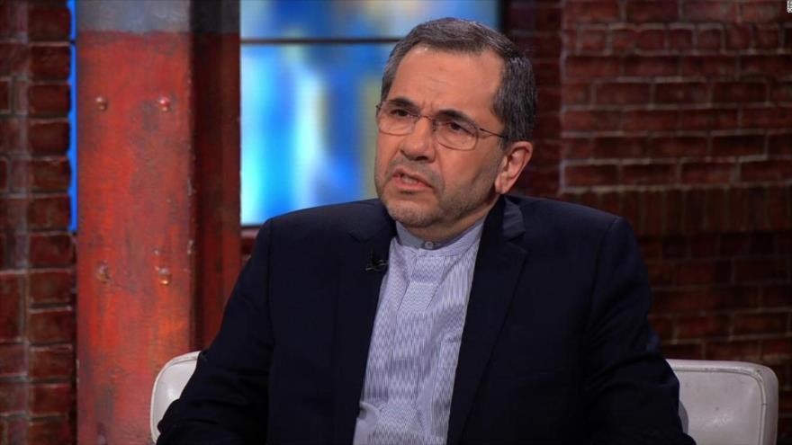 Representante permanente de Irán ante la ONU, Mayid Tajt Ravanchi.
