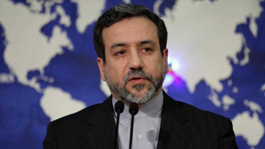 El vicecanciller para Asuntos Políticos de Irán, Seyed Abás Araqchi. (Foto: AFP)