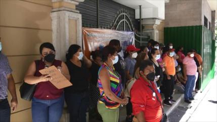 Trabajadores hondureños exigen mejoras salariales