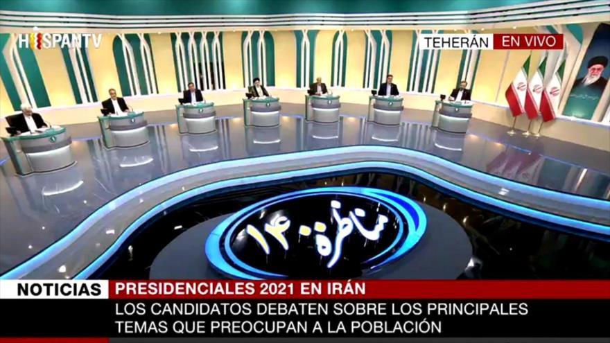 Último debate entre los siete candidatos a la Presidencia de Irán