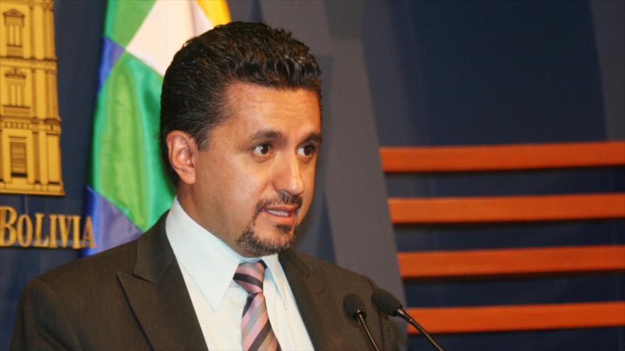 El secretario ejecutivo de la Alianza Bolivariana para los Pueblos de Nuestra América-Tratado de Comercio de los Pueblos (ALBA-TCP), Sacha Llorenti.