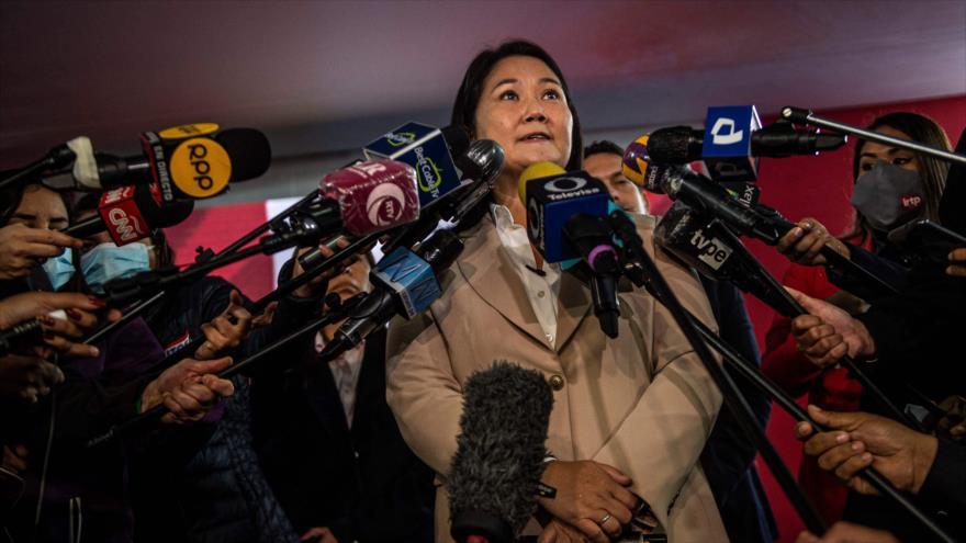 Sondeo: Fujimori no tiene otra carta salvo la teoría de fraude