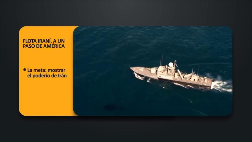 PoliMedios: Flota iraní, a un paso de América