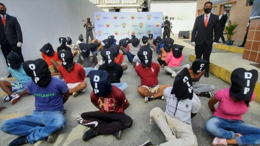 Operativo policial dejó 38 detenidos en La Vega, Venezuela | HISPANTV
