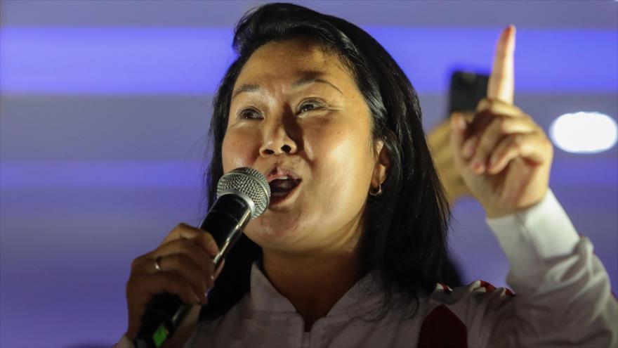 Fujimori sigue con su teoría de fraude; exige un recuento de votos | HISPANTV