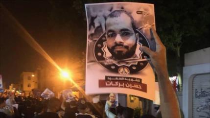 Protestas contra Al Jalifa por la trágica muerte de preso político