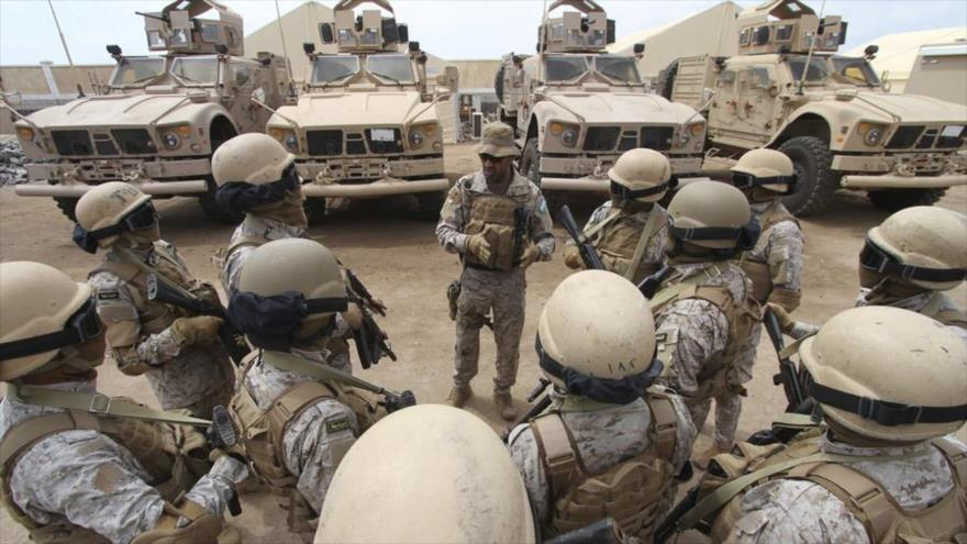 Fuerzas de la coalición de Arabia saudí en Yemen. (Foto: Reuters)