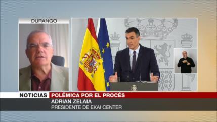 Zelaia: Derecha española no es capaz de resolver tema de Cataluña