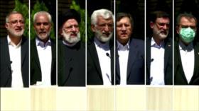 De cara a elecciones, candidatos promueven sus planes en Irán