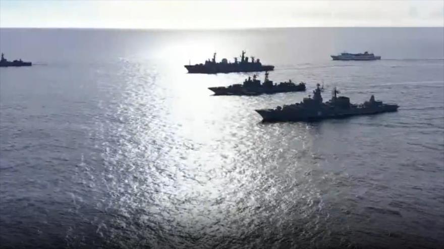 Vídeo: Armada rusa maniobra a gran escala en océano Pacífico | HISPANTV