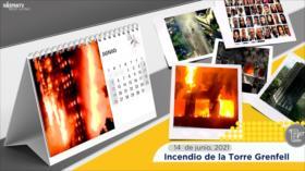Esta semana en la historia: Incendio de la Torre Grenfell