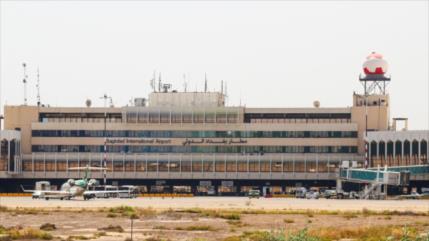 Dron armado lanza bombas contra base militar de EEUU en Bagdad