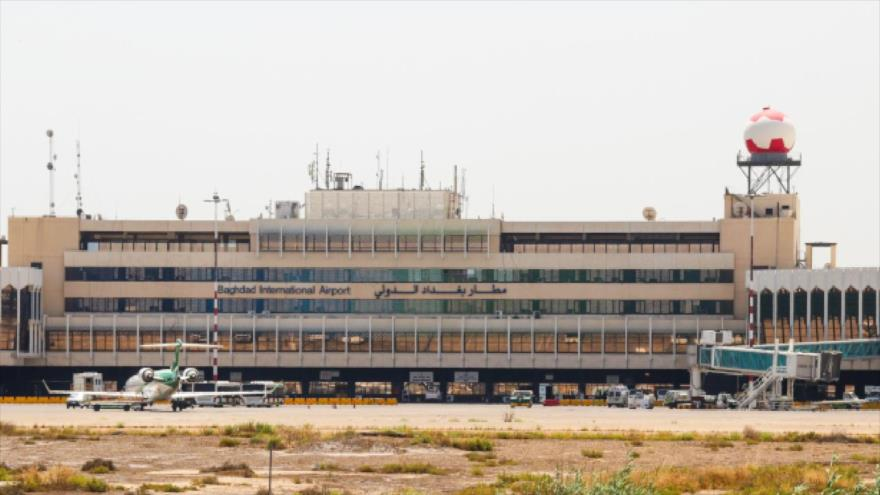 El aeropuerto internacional de Bagdad en la capital iraquí.