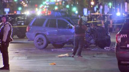 Una mujer muere tras ser atropellada durante una protesta en EEUU