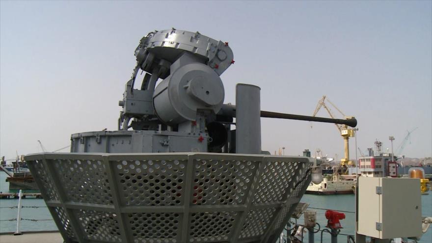 Irán refuerza su Armada con el destructor de alta tecnología Dena