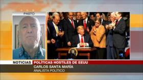 """Santa María: Postura de Biden hacia Cuba es """"vulgar hipocresía"""""""