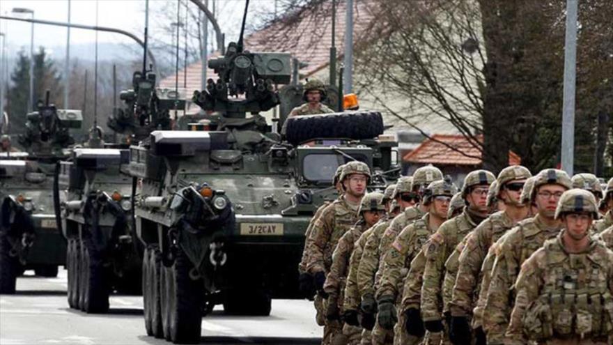 El Ejército de EE.UU. despliega un nutrido grupo de sus tropas y blindados para participar en las maniobra Defender Europe 21.