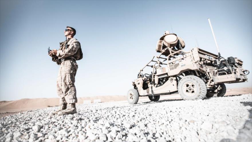 Un militar estadounidense durante maniobras en Arabia Saudí. (Foto: Centcom)