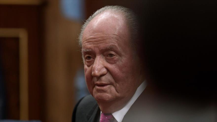El rey emérito español Juan Carlos I asiste a un acto conmemorativo en el Congreso de los Diputados, Madrid, España, 6 de diciembre de 2018. (Foto: AFP)