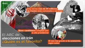 El ABC de elecciones en Irán: ¿Quién es el candidato favorito?