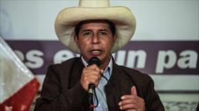 """Contabilizado al 100 %: Castillo asevera sobre """"tumbar la elección"""""""
