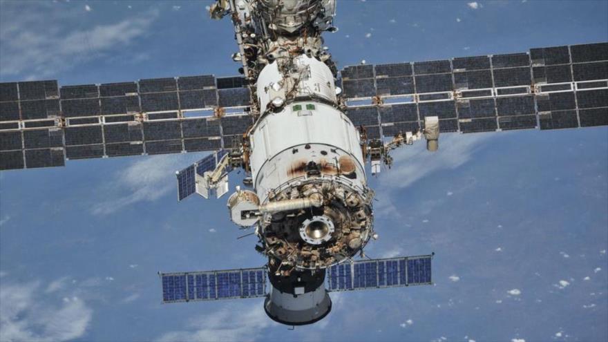 La Estación Espacial Internacional fotografiada desde una nave espacial Soyuz, 4 de octubre de 2018. (Foto: Reuters)