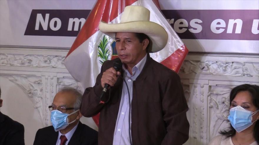 Pedro Castillo rechaza discurso de fraude electoral de Keiko   HISPANTV
