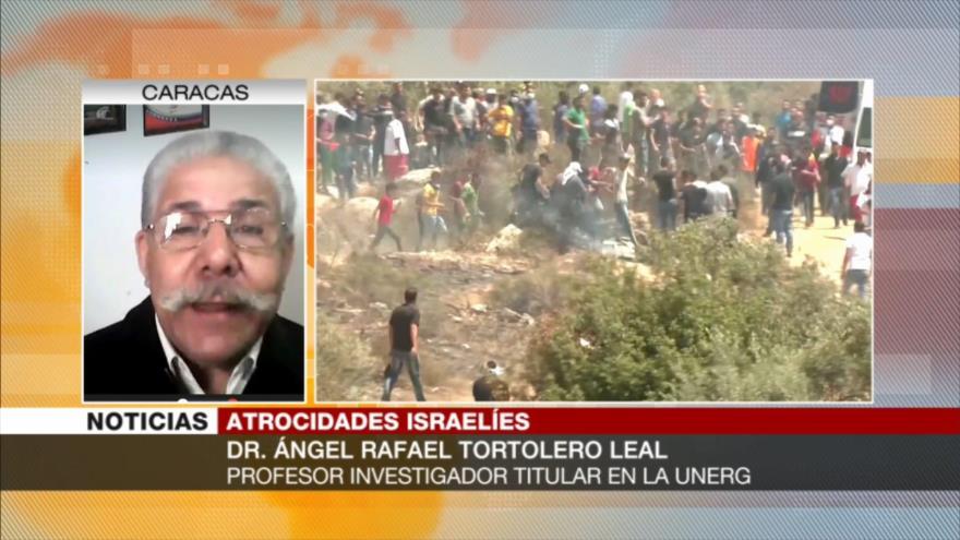 """Tortolero Leal: Israel es """"el mayor asesino"""" del mundo"""