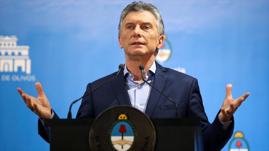 El expresidente de Argentina Mauricio Macri.