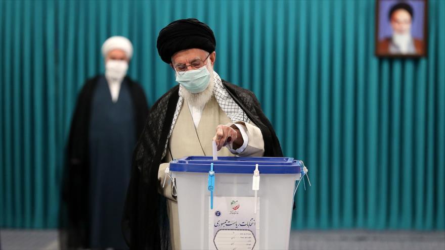 El Líder de Irán acude a votar en las elecciones presidenciales | HISPANTV
