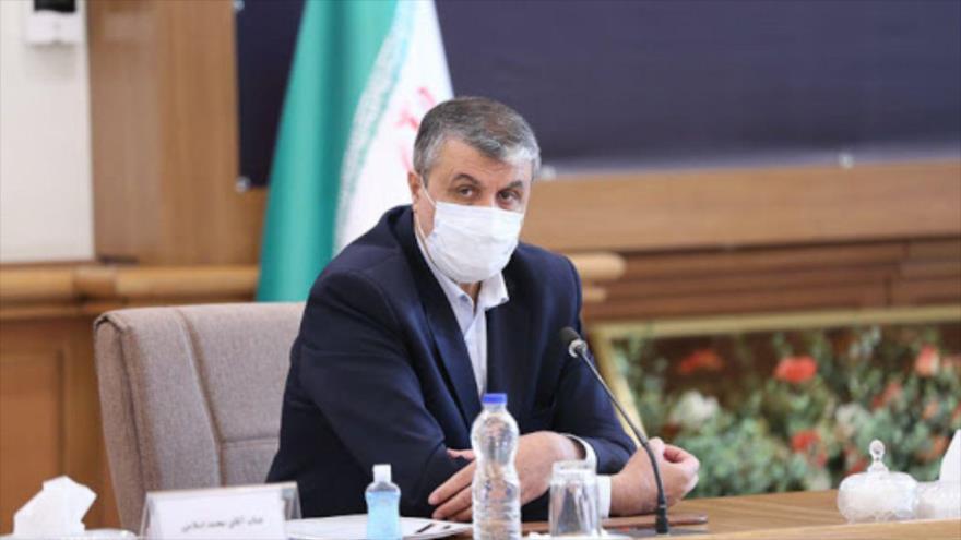 El ministro de Carreteras y Desarrollo Urbano de Irán, Mohamad Eslami.
