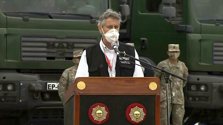 El presidente de Perú llama a ciudadanos a mantener calma