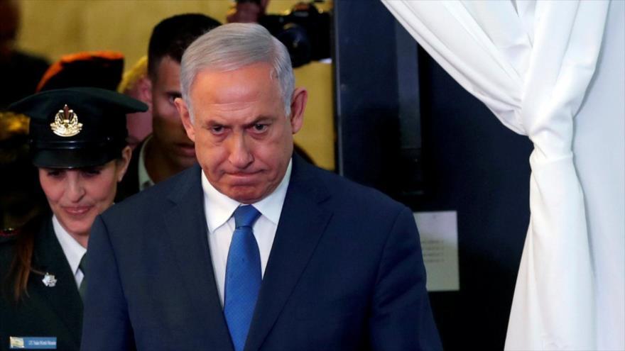 El expremier israelí Benjamín Netanyahu.