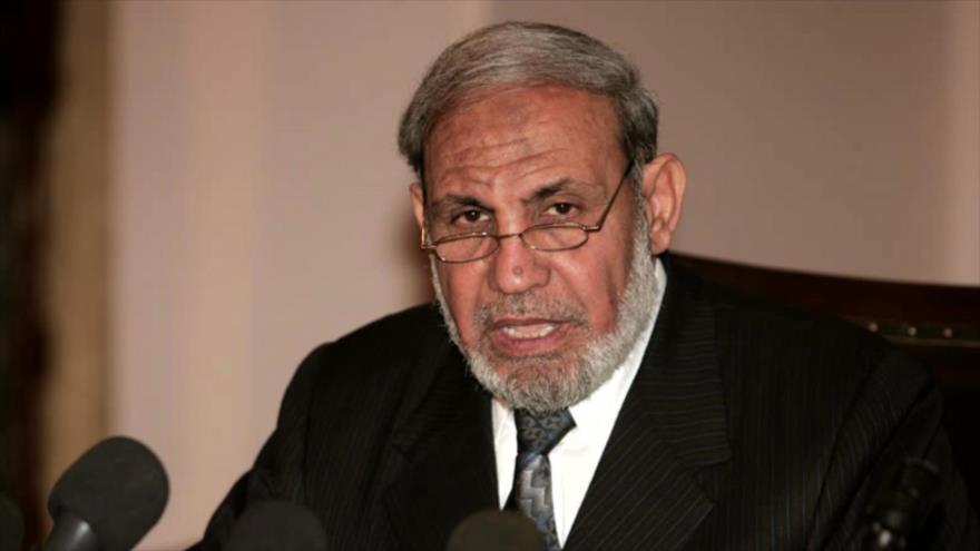 Mahmud al-Zahar, cofundador del Movimiento de Resistencia Islámica de Palestina (HAMAS).
