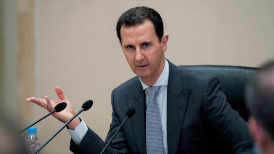 Al-Asad felicita a Raisi y le desea derrotar complots y presiones   HISPANTV