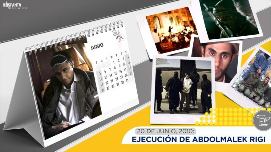 Esta semana en la historia: Ejecución de Abdolmalek Rigi