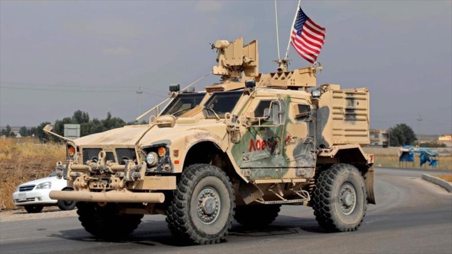 Un vehículo militar de EE.UU. en la provincia de Dohuk, Irak, 21 de octubre de 2019. (Foto: AFP)