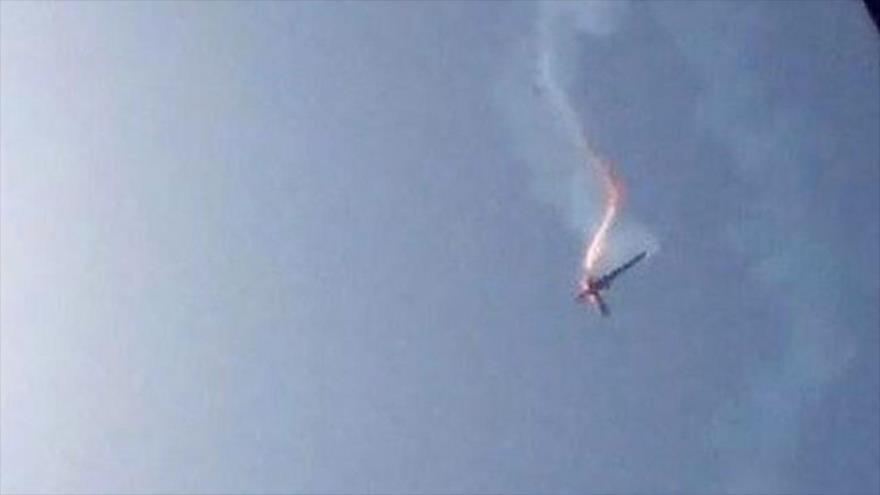 Ejército de Yemen derriba un dron espía estadounidense en Marib.