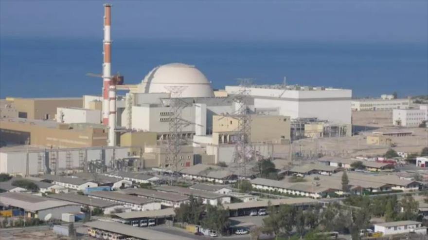 La planta nuclear de Busher, situada en el suroeste de Irán.