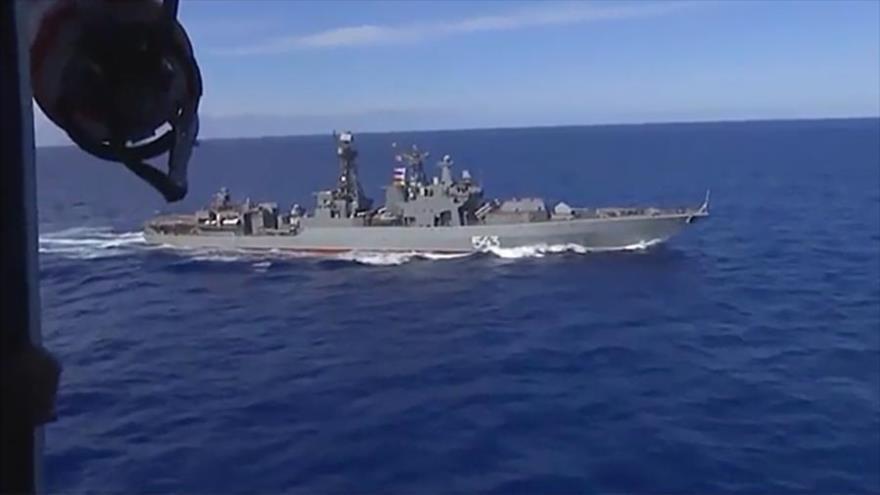 Por 1.ª vez Flota y Aviación Naval de Rusia maniobran en Pacífico | HISPANTV