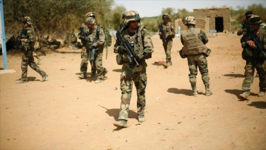 Soldados franceses desplegados en Gao, en el norte de Malí. (Foto: AP)