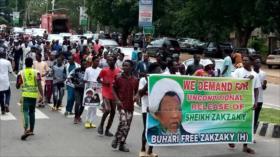 Fotos: Nigerianos piden liberación inmediata de líder islámico