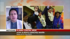 Sánchez: Gobierno de Arce nada a contracorriente ante golpistas