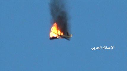 Vean cómo yemeníes derriban dron espía estadounidense en Marib