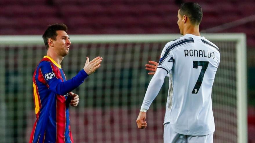 El delantero portugués Cristiano Ronaldo (izda.) y el astro argentino Lionel Messi. (Foto: Reuters)