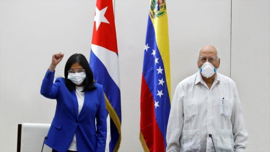 'Unión Venezuela-Cuba refleja el fracaso de las agresiones de EEUU'